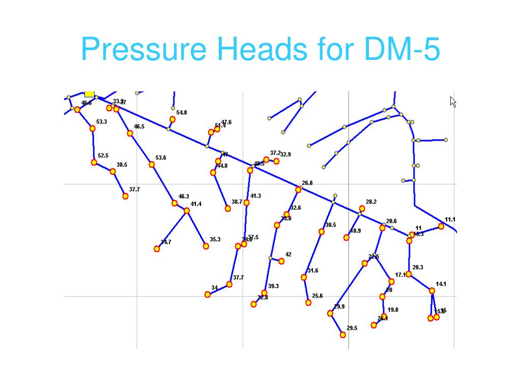 Pressure Heads for DM-5