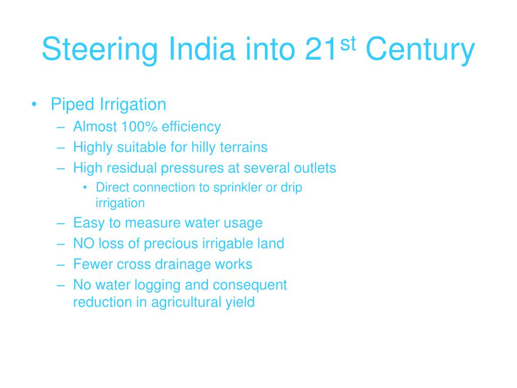 Steering India into 21
