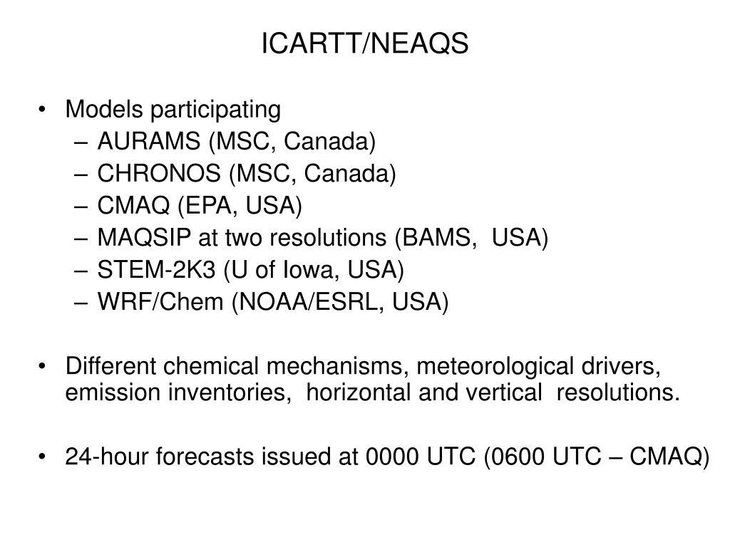 ICARTT/NEAQS