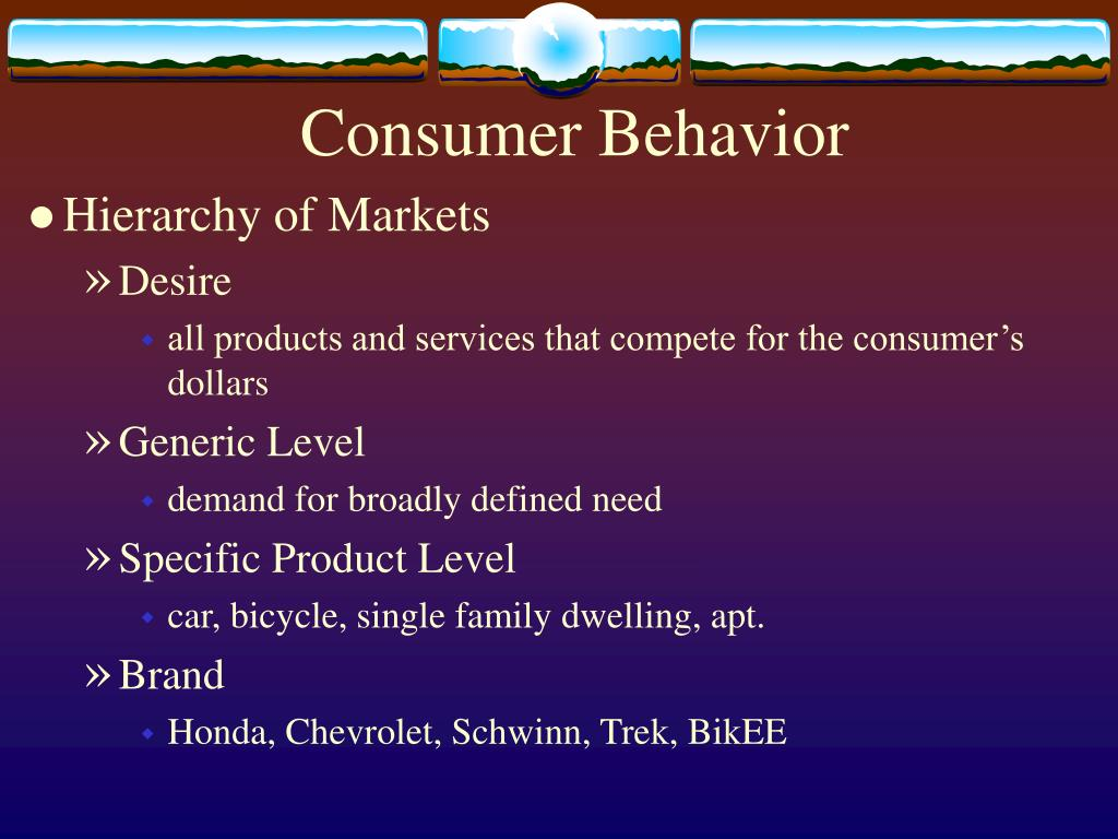 elements of consumer behaviour Consumer behaviour is the study of when, why, how, and where people do or do  not buy a product it blends elements from psychology, sociology, social.