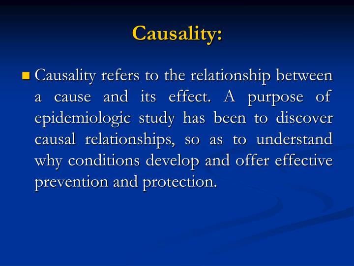 Causality: