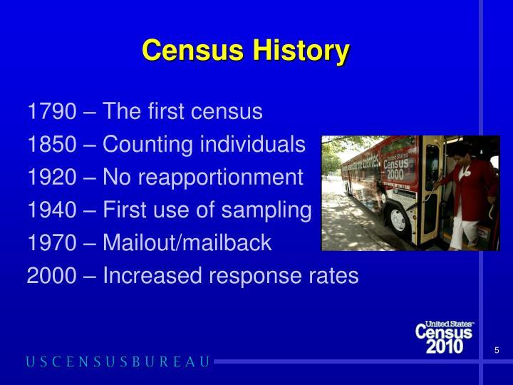 Census History