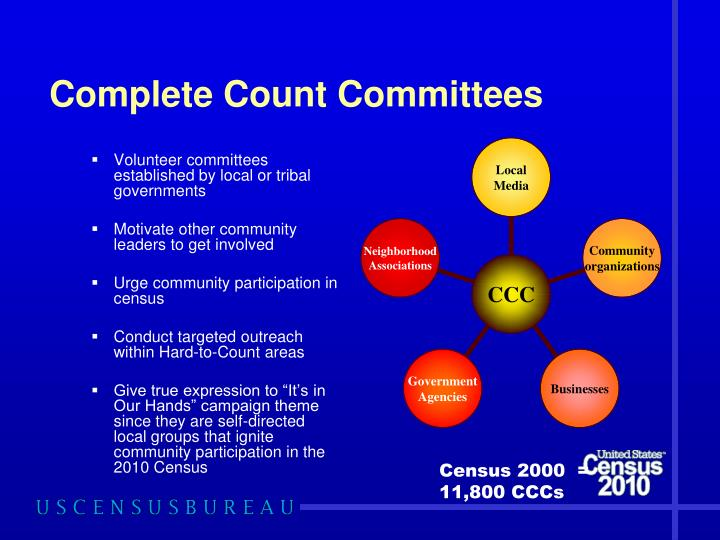 Complete Count Committees