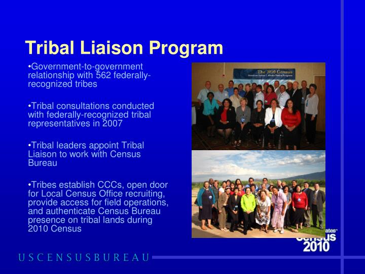 Tribal Liaison Program