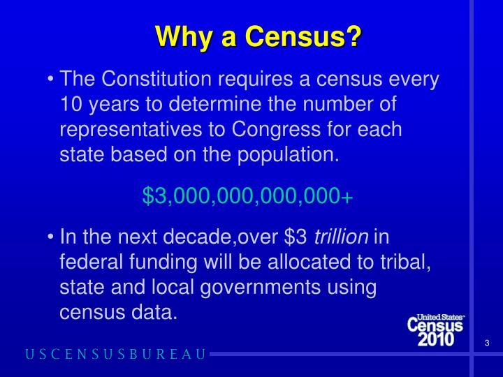 Why a census