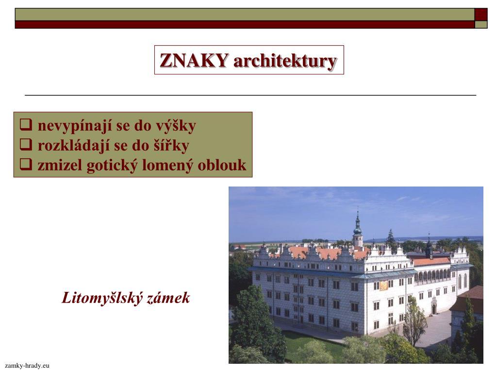ZNAKY architektury