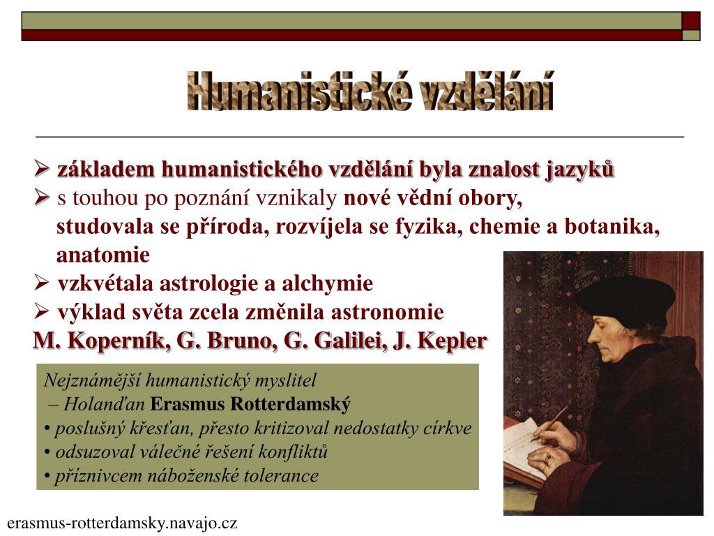 Humanistické vzdělání