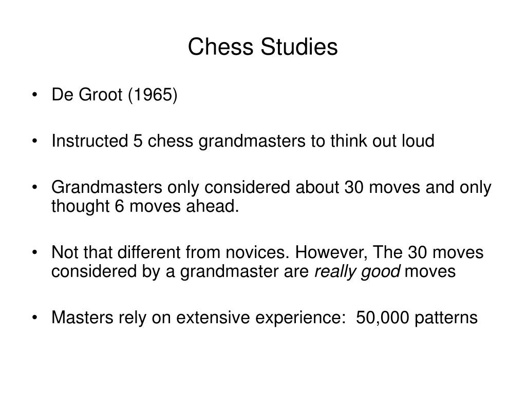 Chess Studies