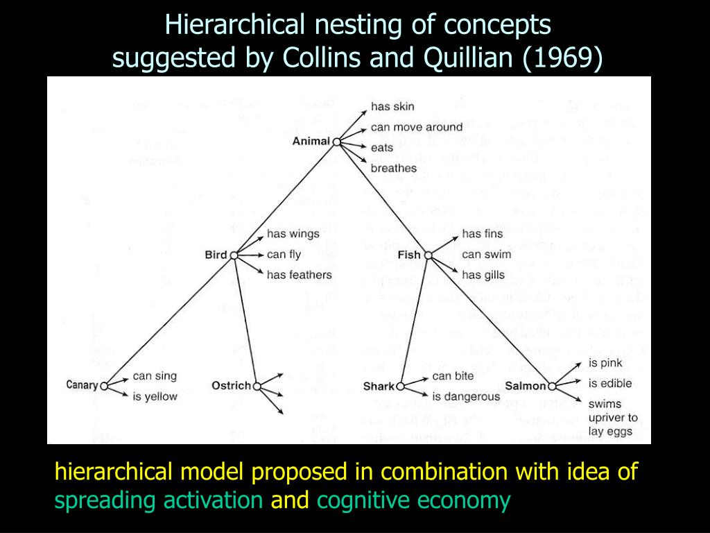 Hierarchical nesting of concepts