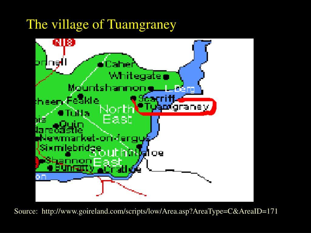The village of Tuamgraney