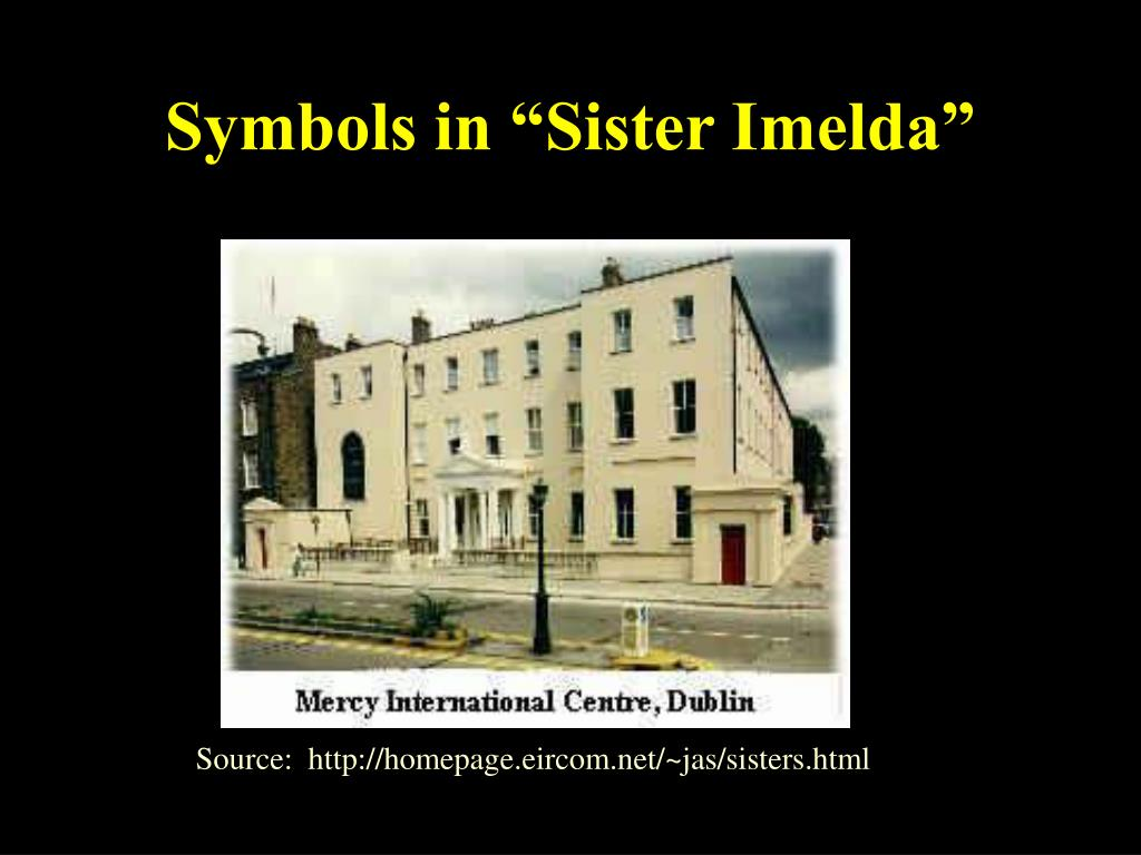 """Symbols in """"Sister Imelda"""""""
