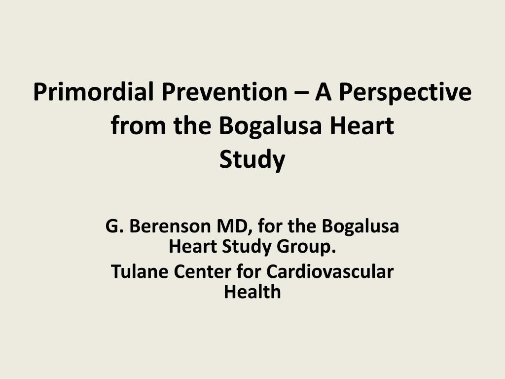 BioLINCC: Bogalusa Heart Study (BHS)