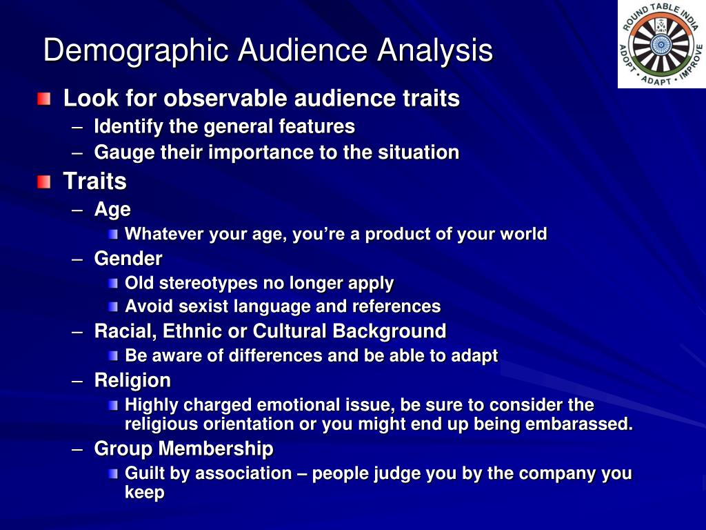 Demographic Audience Analysis