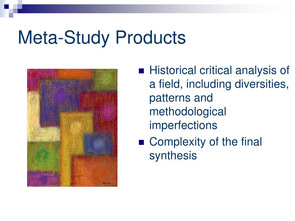 qualitative metasynthesis Qualitative meta-synthesis – qualitative meta-synthesis – qualitative meta-analysis metasynthesis: the state of the art –so far.