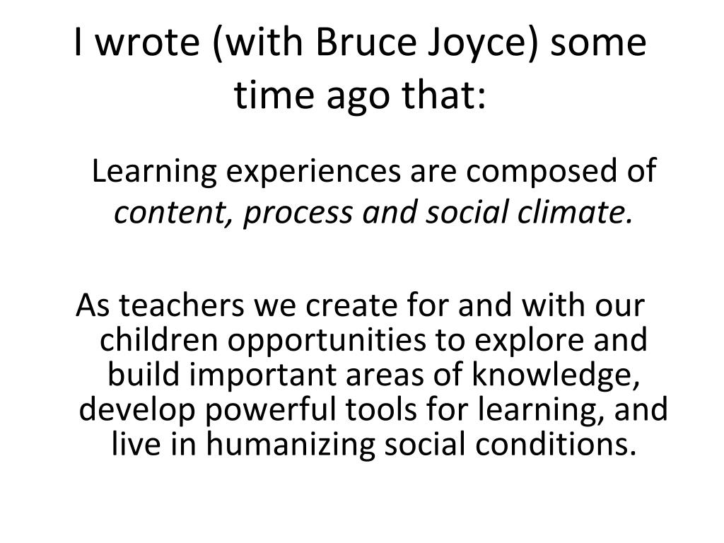 I wrote (with Bruce Joyce) some time ago that: