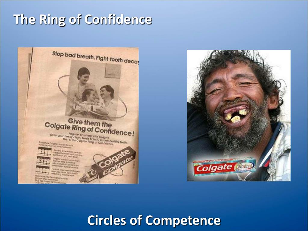The Ring of Confidence