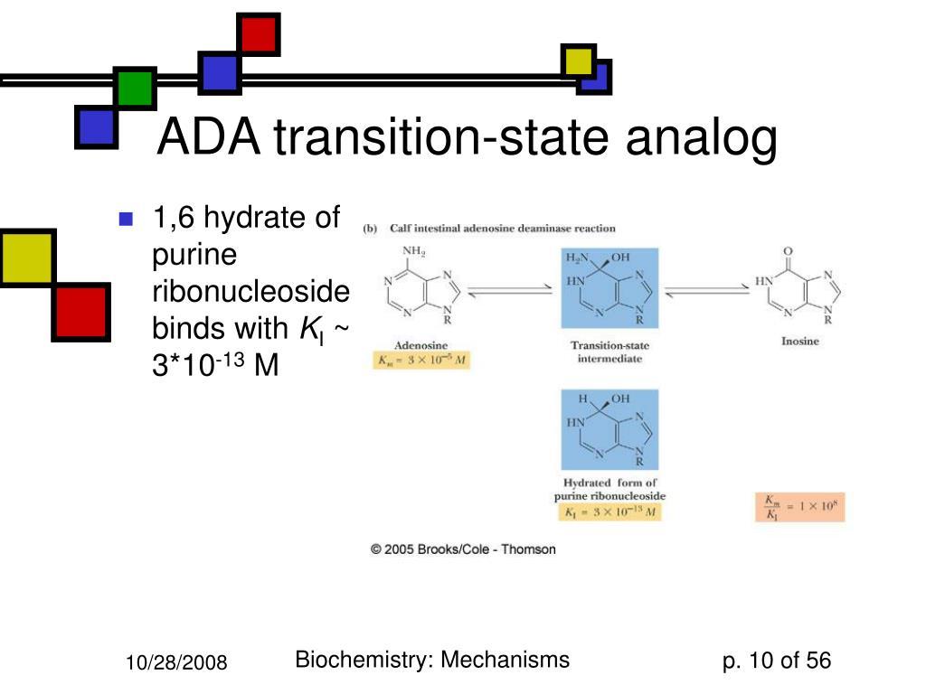 ADA transition-state analog