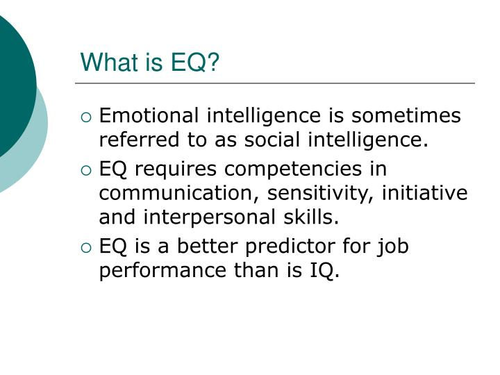 What is eq