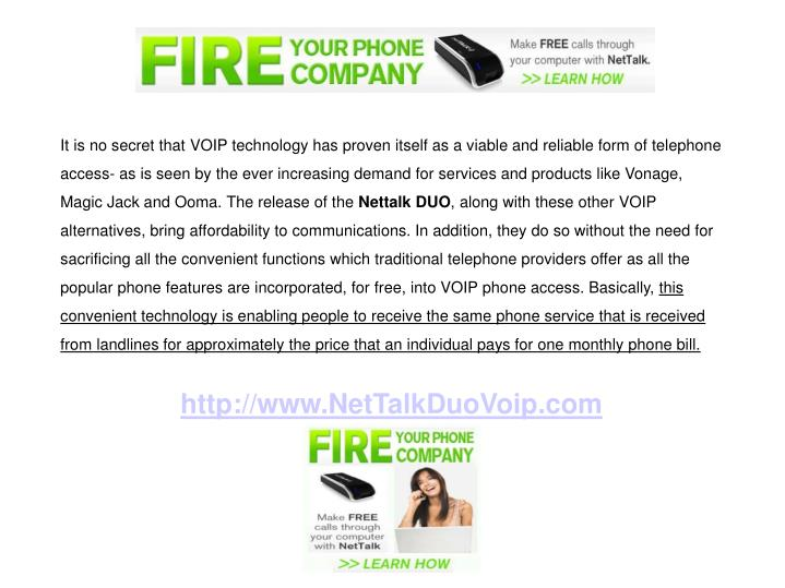It is no secret that VOIP technology has proven itself as a viable and reliable form of telephone ac...