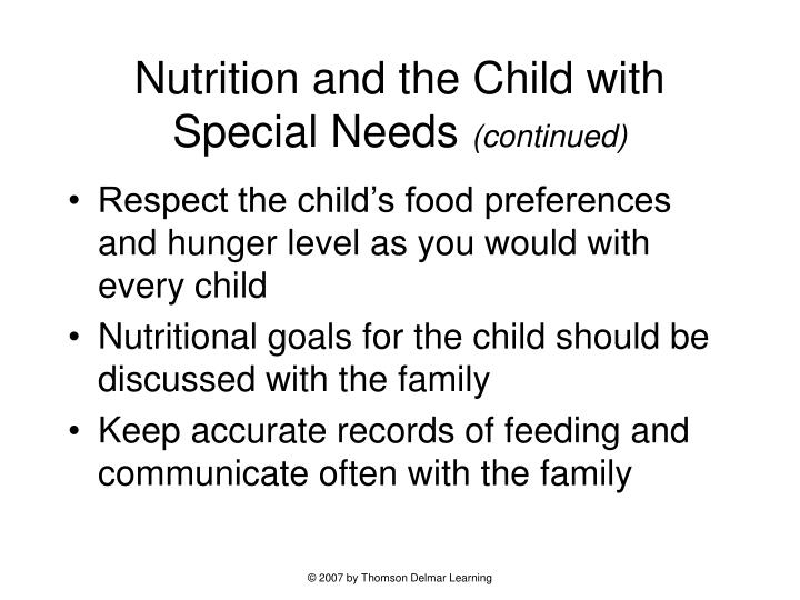 Learning Soft Skills In Childhood Can >> PPT - Chapter 8: Providing Good Nutrition in Early ...