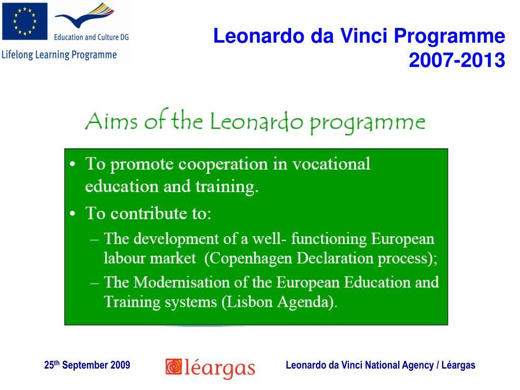 Leonardo da Vinci Programme