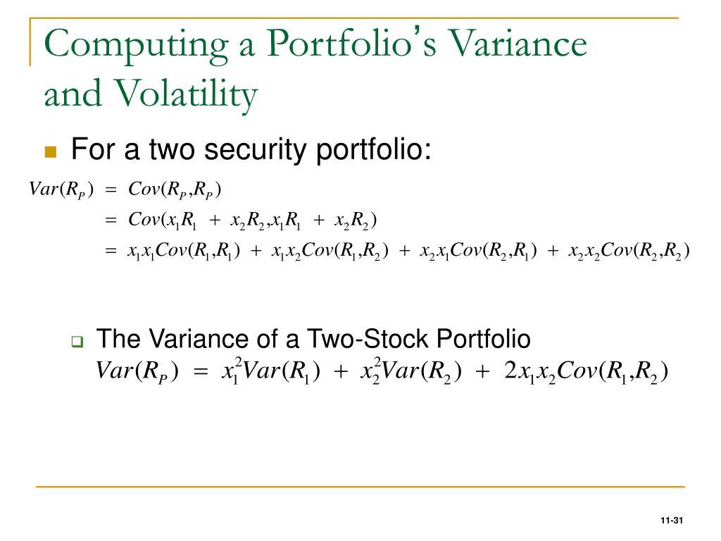 Computing a Portfolio