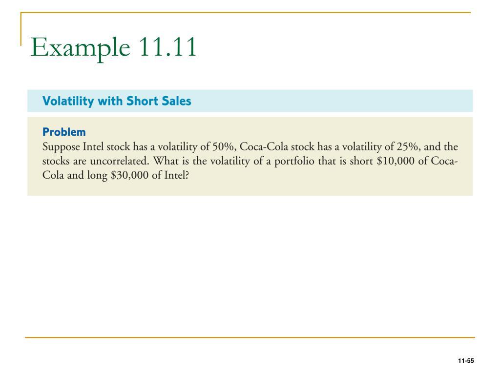 Example 11.11