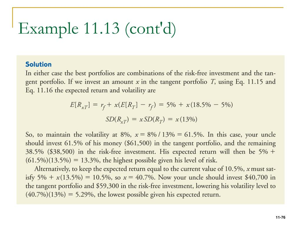 Example 11.13 (cont'd)