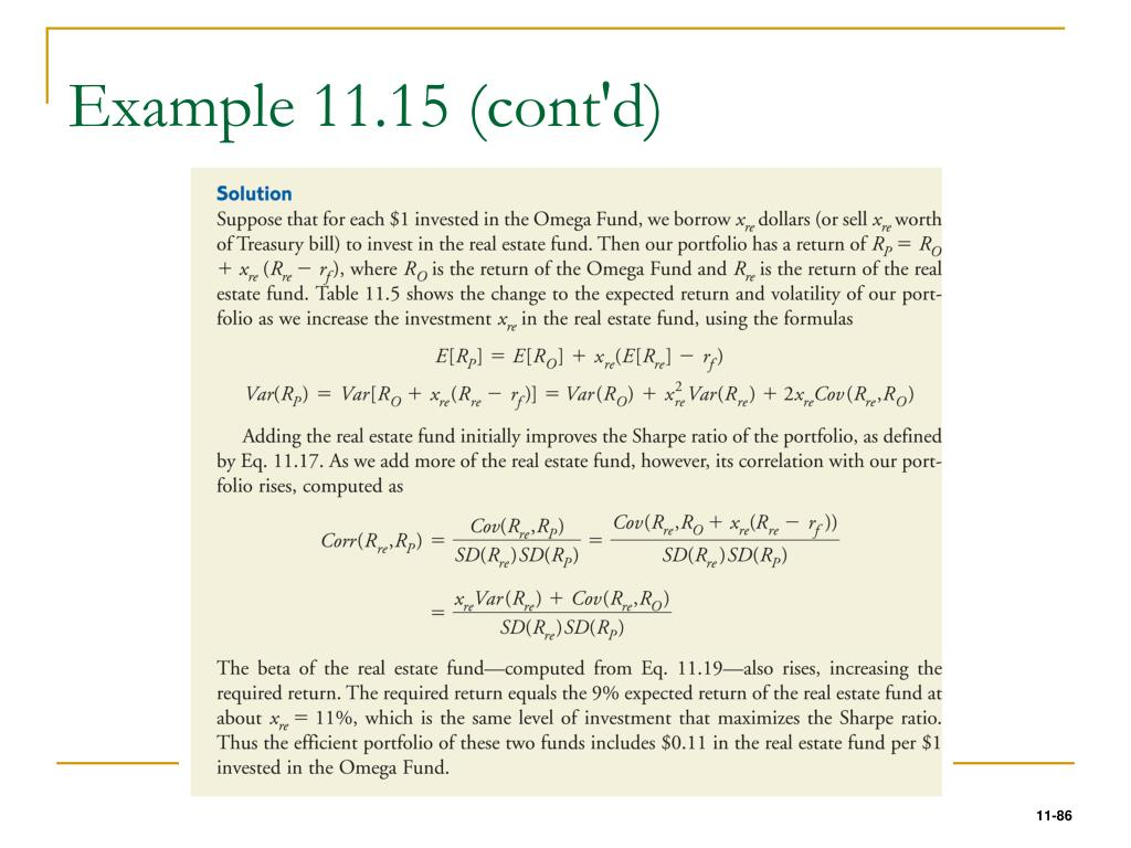 Example 11.15 (cont'd)