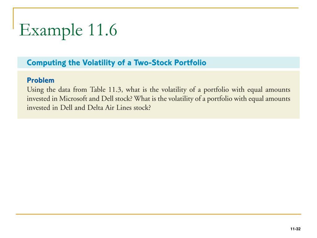 Example 11.6