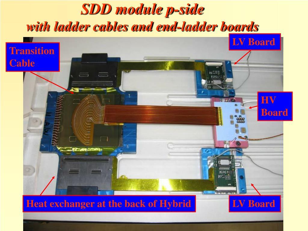 SDD module p-side
