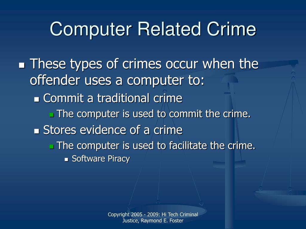 the rise of computer related crime Employee computer crime on the rise (industry insider) david l ahl employee computer crime on the rise most computer crimes.
