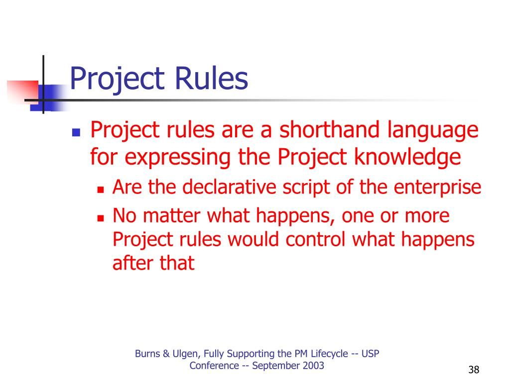 Project Rules