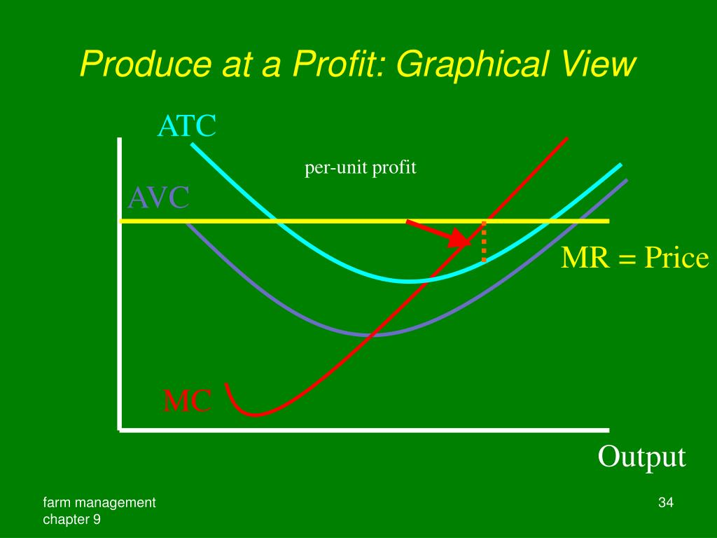 Produce at a Profit: Graphical View