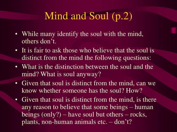 Mind and Soul (p.2)