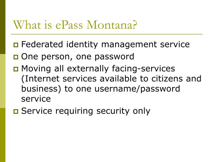 What is epass montana l.jpg
