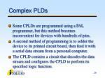 complex plds26
