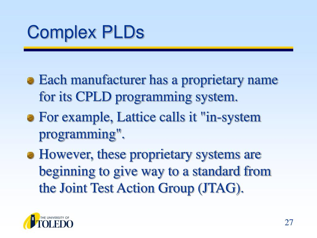 Complex PLDs