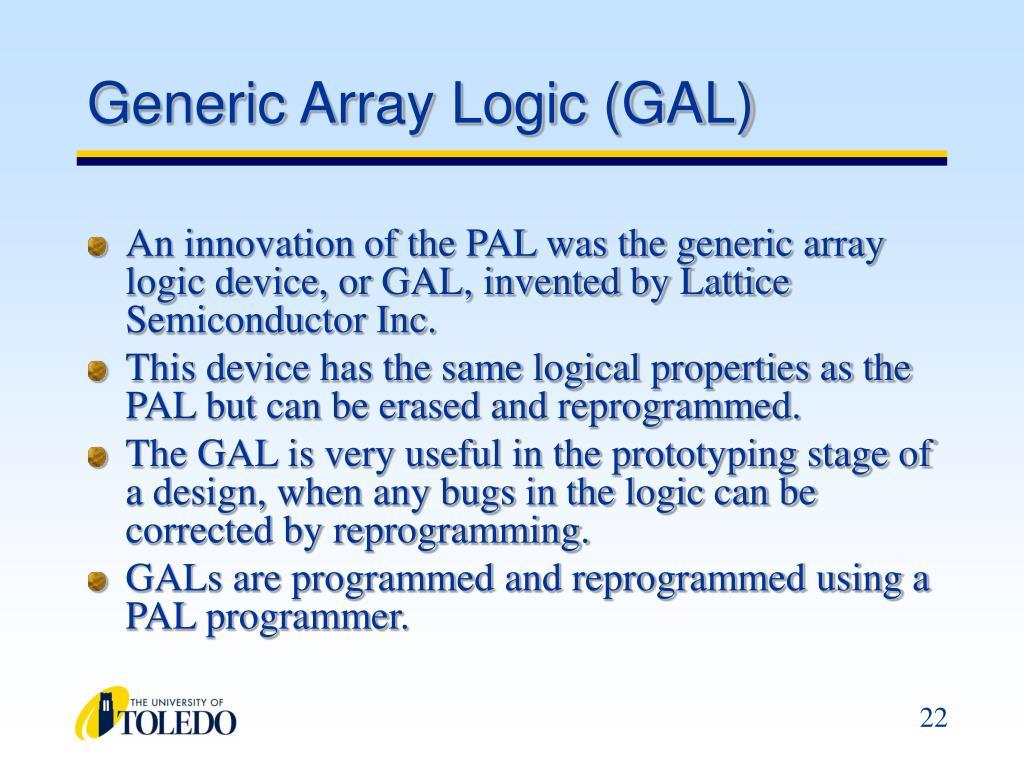 Generic Array Logic (GAL)