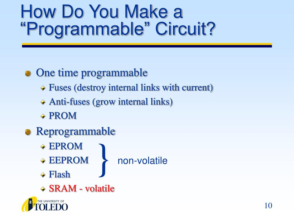 "How Do You Make a ""Programmable"" Circuit?"