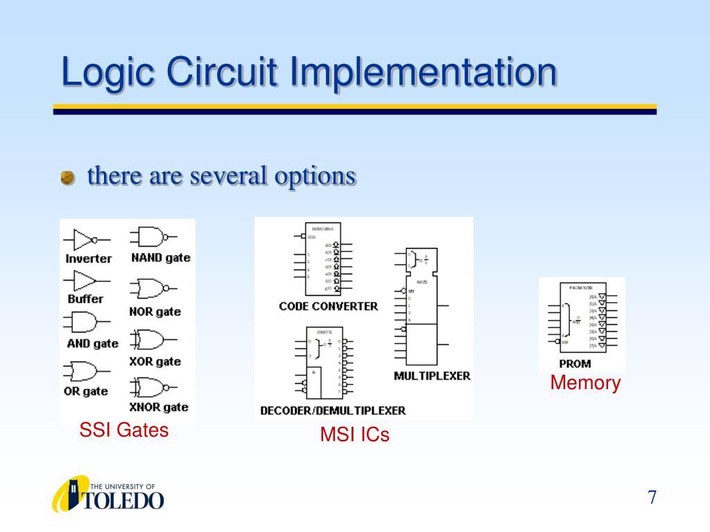 Logic Circuit Implementation