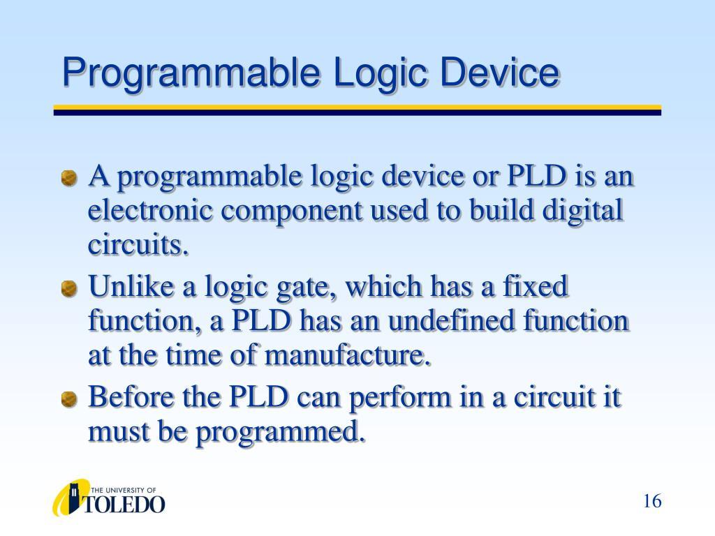 Programmable Logic Device