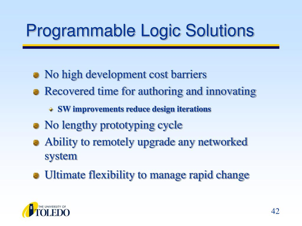 Programmable Logic Solutions