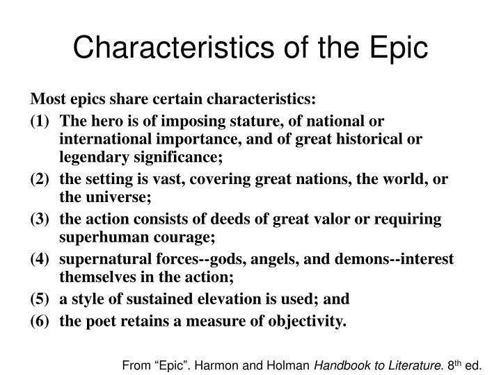 the heroic characteristics of beowulf in the epic beowulf Start studying anglo-saxon/beowulf study guide learn  a long narrative poem recounting heroic deeds epic  beowulf epic hero traits confident, bold.