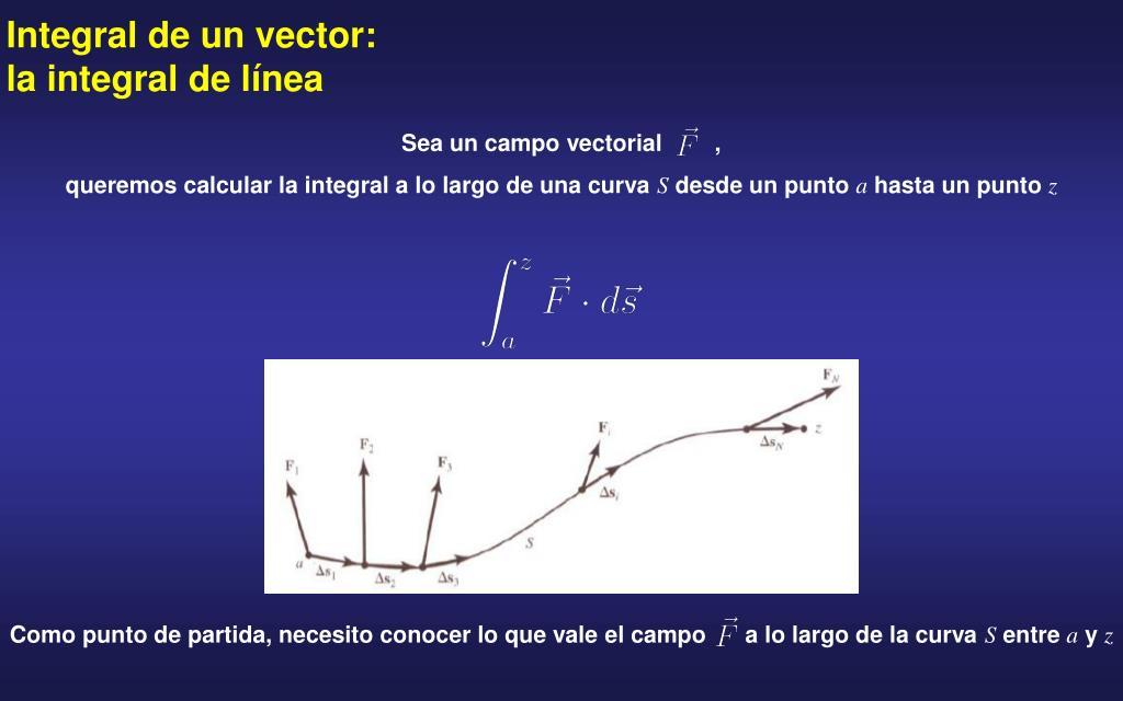Sea un campo vectorial        ,