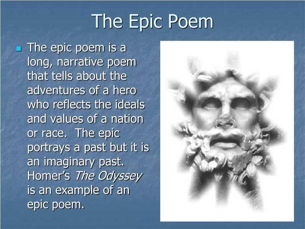 epic poem examples - photo #29