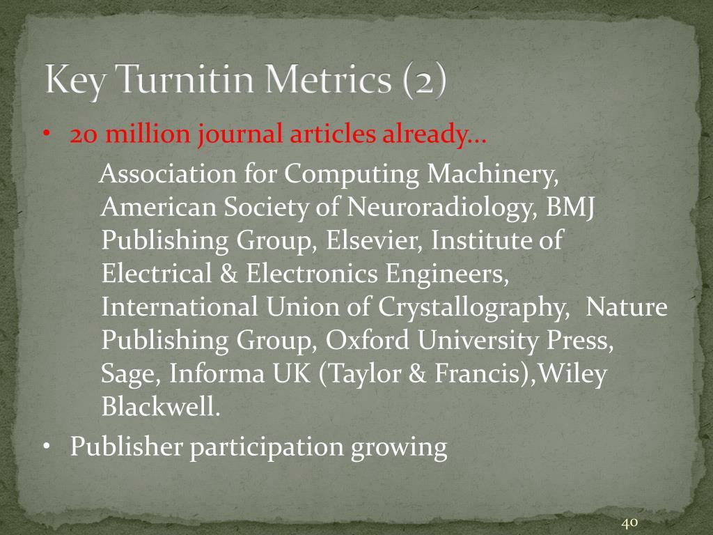 Key Turnitin Metrics (2)
