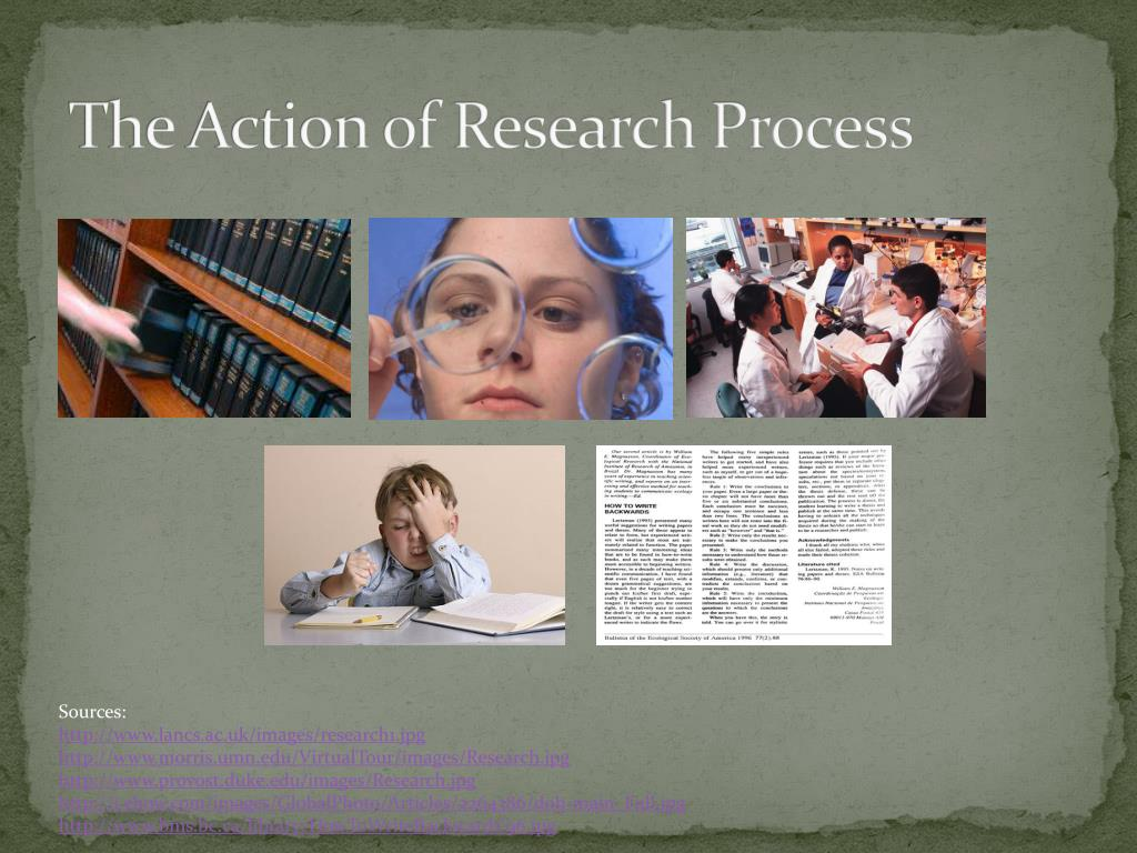 The Action of Research Process