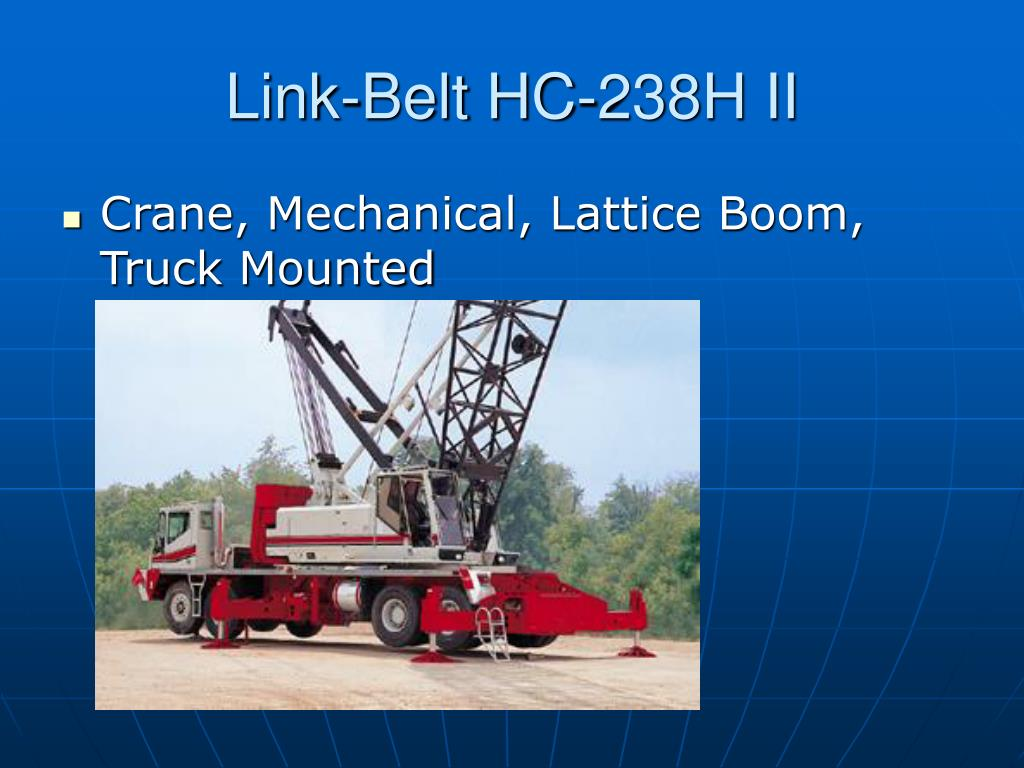 Link-Belt HC-238H II