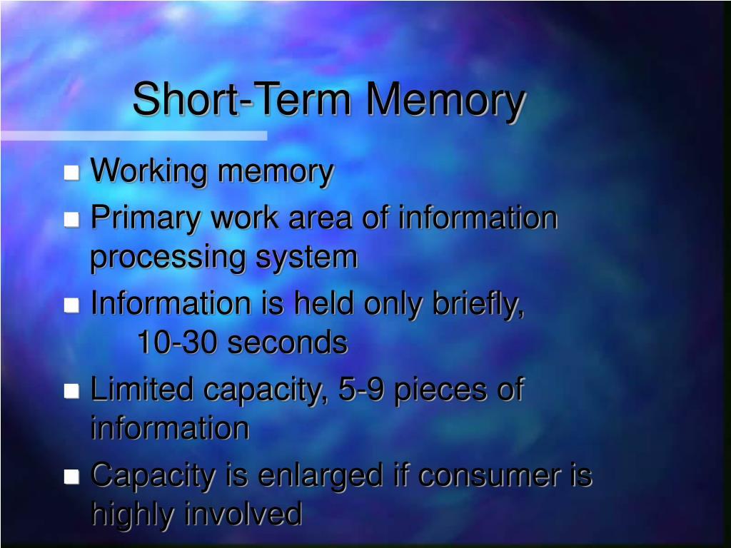 Auditory Short-Term Memory Behaves Like Visual Short-Term Memory